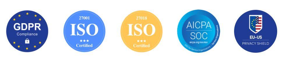 monday.com sertifikaatit ja turvallisuus